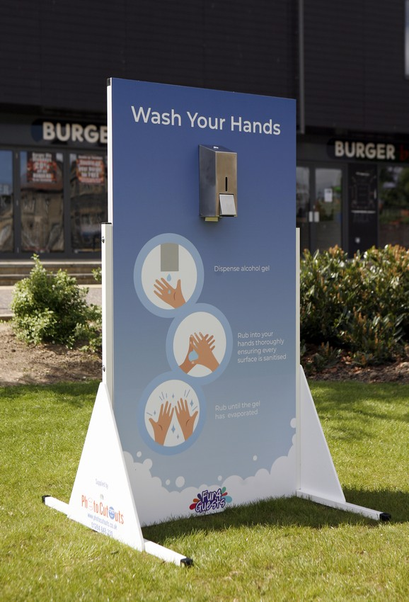 1, 4 and 6 dispenser hand wash boards