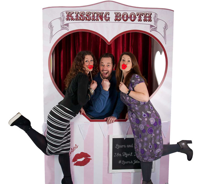 Hire our Vintage Kissing Booth