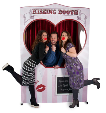 Hire Our Kissing Booth