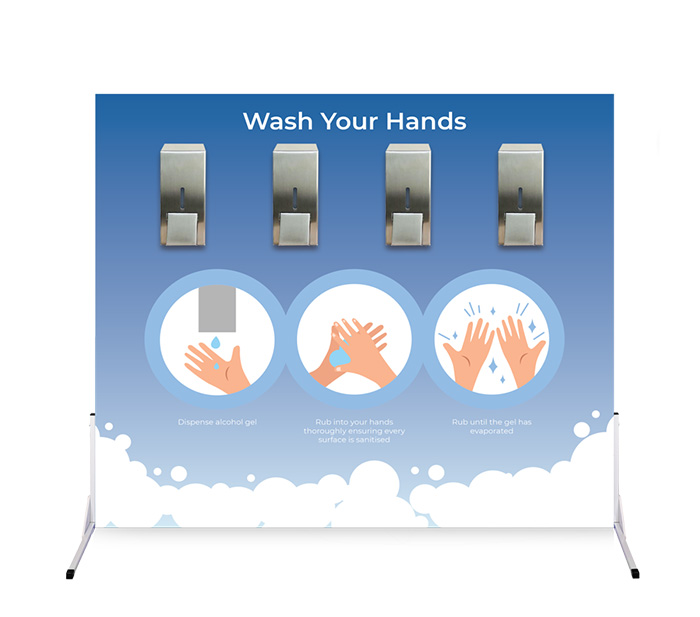 Hire a hand wash / hand sanitiser station