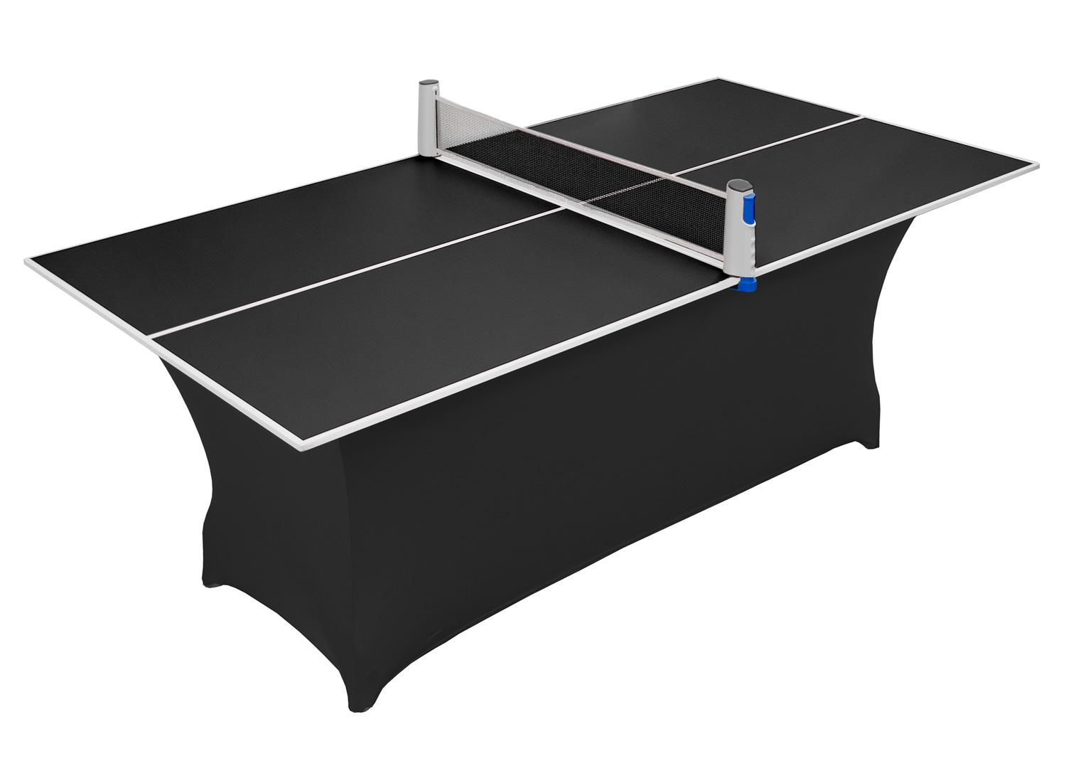 Compact Black Table Tennis