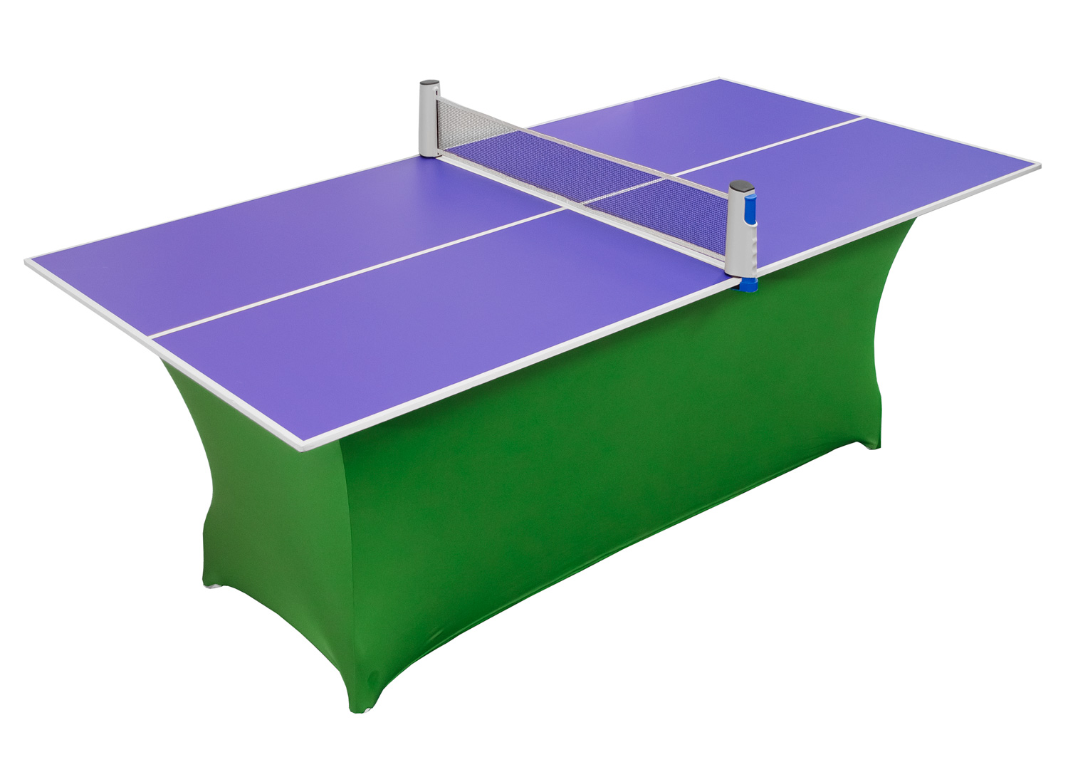 Compact Blue Table Tennis