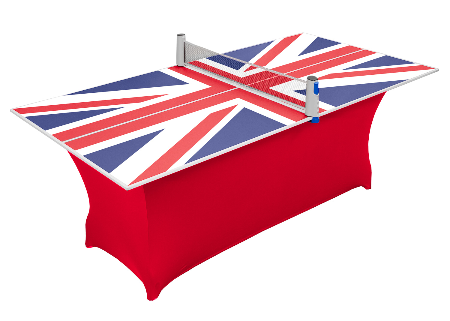 Compact Union Jack Table Tennis