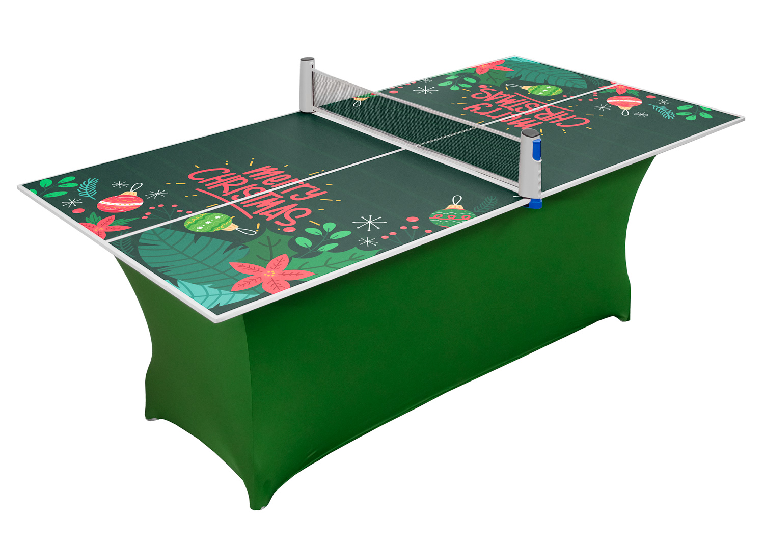 Compact Christmas Table Tennis